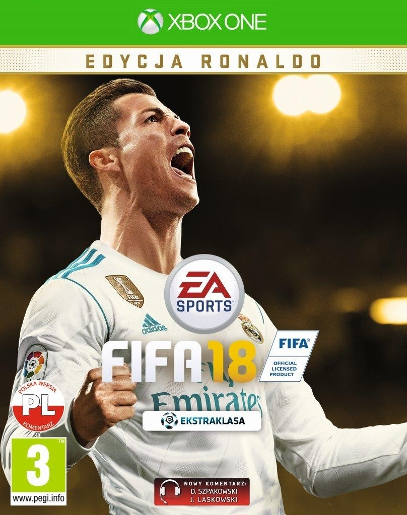FIFA 18 Ronaldo Edition PL (Xbox One)